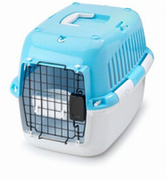 Manual pad-lock bolt pet cage