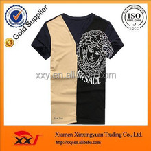 Customized cheap promotional mens personalised t shirts