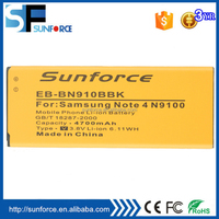 portable phone battery for Samsung Galaxy Note 4 4700mAh lithium replacement mobile phone battery