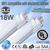 99% compatible with electronic ballasts t8 elephant tube 8w 100-277V UL DLC