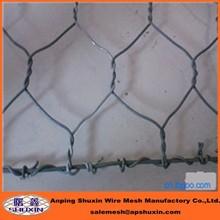 PVC coated chicken wire mesh roll/hexagonal wire netting