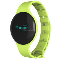 wholesale Activity tracker sleep monitor bluetooth sport step counter wrist watch with silicone band