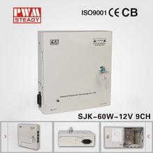 CCTV power supply box DC12V5 9CH