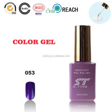 2015 beauty parlor gelpolish uv gel nail polish led gel nail colord fashion nail polish
