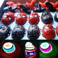 spider man spinning top toy/kid toy