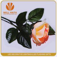 Led flower stick, plastic flower stick, Wholesale flashing led flower