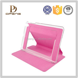 low price leather case for ipad 2/3/4/5 made in China shenzhen factory
