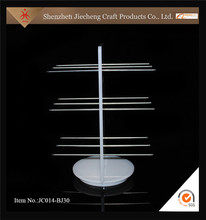 Jiecheng festival gifts clear acrylic pen and pencile stand acrylic pen display holder rack for retail