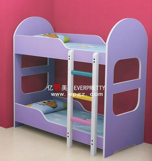 Children Bedroom Furniture Children Wooden Double Bed
