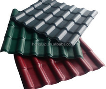 ASA layer synthetic PVC roofing tile/installation roof/new technology construction material