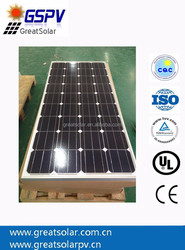 Chinese cheap price MONO solar panel 150w with TUV,UL,CE,ISO