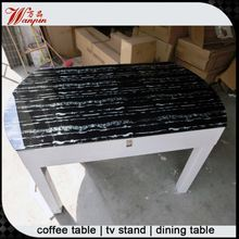 promotion low price wooden folding side dining table