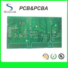 Double sided printer circuit board for electronic products
