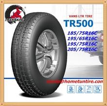 TRANSKING 16 inch car tires 185/75r16c 104/102 Q for light trucks with E-mark DOT