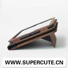 book type magnet leather case for ipad mini,for ipad mini case