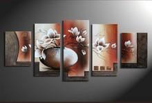 modern flower home decor wall art