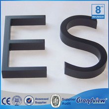 fashionable led metal channel letters