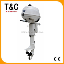 long shaft CE approved short shaft electric 2.5 HP sail outboard motor 4 stroke