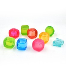 Shenzhen light colorful ice cube, for cooling drink light colorful ice cube