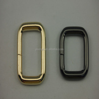 golden metal ring with high quality metal rings for purses