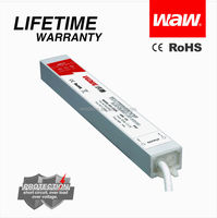 Constant voltage 45w led driver 12v 3.75a waterproof electronic led driver
