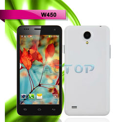 4.5Inch MTK6582 Quad Core China Mobile Smartphones W450