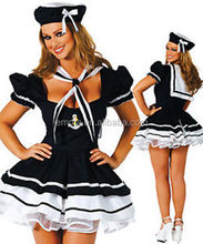 Hot Sale Halloween Womens Carnival Sailor Fancy Dress Costume With Fashion Style BWG-2109