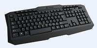 Free Sample Full Black Standard Wired Keyboard