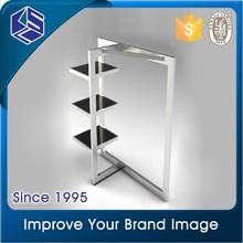 KSL Wooden Slatwall gap clothing display rack