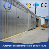 payment protection steam wood/electricity heating 2 mm aluminium sheets wood drying kiln