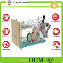 factory price Kitchen Dishes Holders metal wire