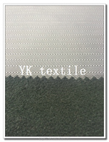 4 way stretch fabric and polar fleece bonded fabric herringbone design