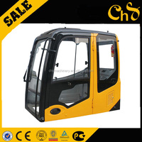 China low price factory excavator cab glass