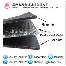 Hoja de grafito reforzado con metal perforado( fabricante)