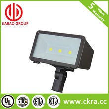 LED flood light FL12A 40w 60w two lense 1/2 inch knuckle mount ETL listed Fitting fixture luminaire housing lamp