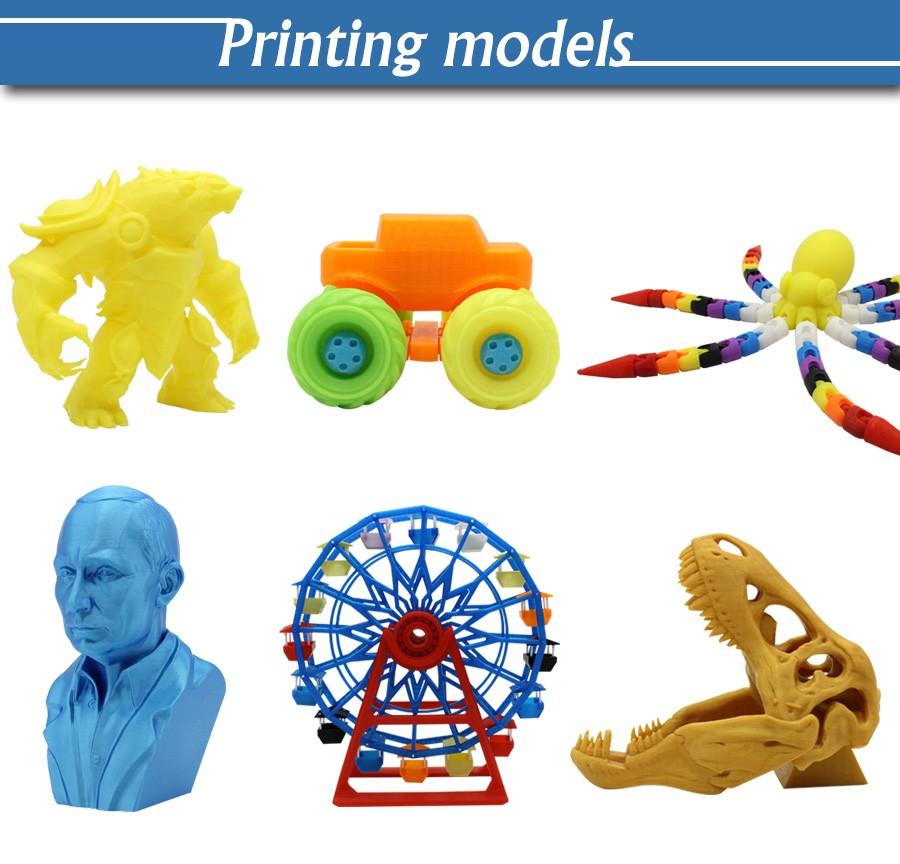 Impresora 3d, chinois Haute Qualité FDM Bureau 3d Imprimantes Machine Kit, Imprimante 3d