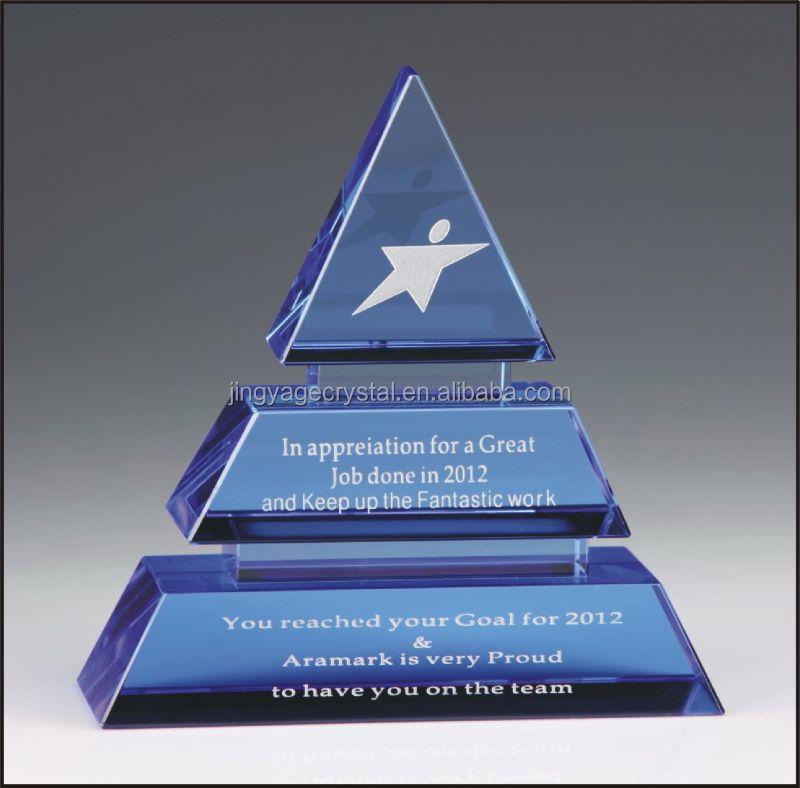 Diamond Cut Crystals Award