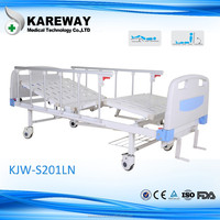 CE FDA aporved two cranks manual care bed