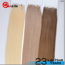 Hot Wholesale Super Glue Human Double Sided Tape Hair Extensions