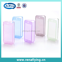 hot selling products TPU transparent phone case back cover for iphone 5