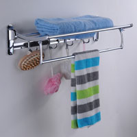 Fashion stainless steel bathroom corner shelf