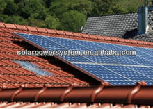 2000w high efficiency monocrystalline solar power panel