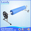 swimming pool cover roller, pool cover collector, China factory