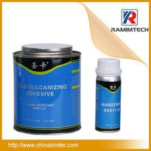 Conveyor belt vulcanizing rubber cement adhesive contact cement glue