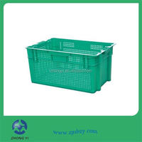 Plastic Vegetable Shipping Crates for produce