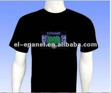 best-selling sound active EL T-shirt