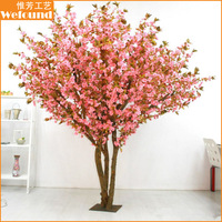 CB51051 Pink cherry blossom tree and wedding artificial cherry blossom tree