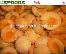Chinese Frozen IQF apricot halves/cubes/dices