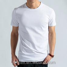 Cotton white blank t shirt wholesale, plain tee shirt
