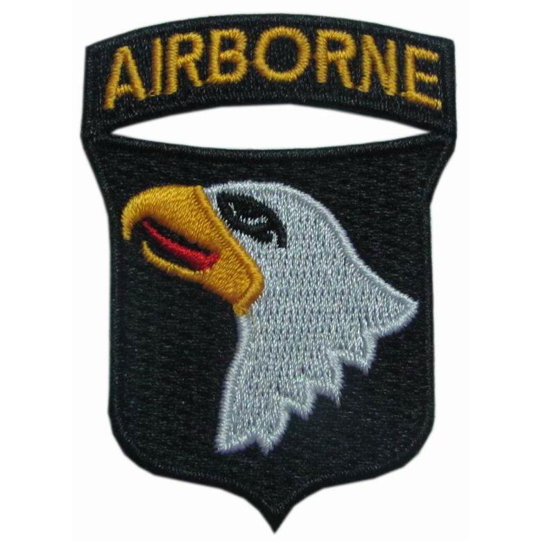Segunda guerra mundial ee.uu. paracaidista 101o aerotransportado parches <span class=keywords><strong>screaming</strong></span> <span class=keywords><strong>eagle</strong></span>